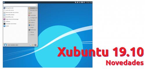 Novedades de Xubuntu 19.10