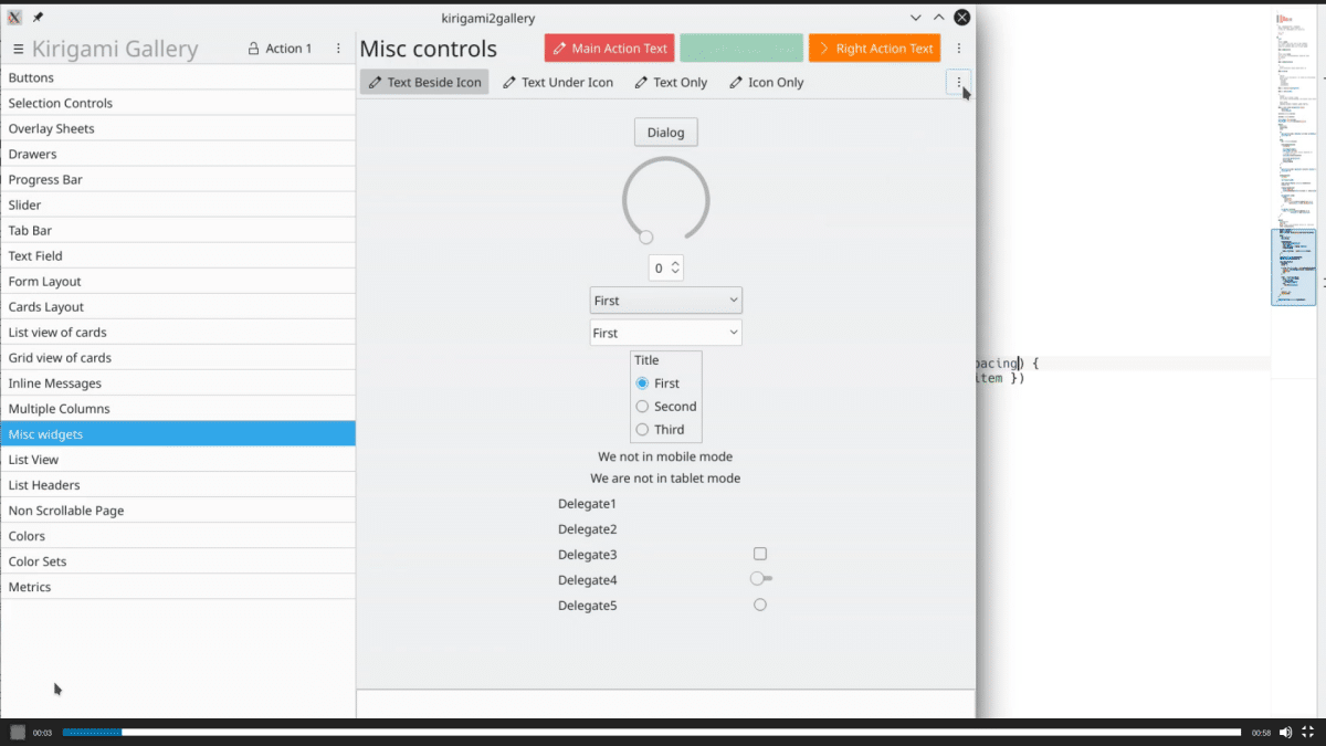 Nuevo sistema de gestión de widgets de Plasma 5.18