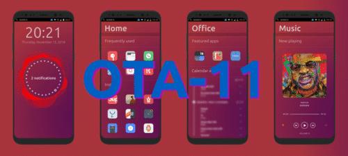 OTA-11 de Ubuntu Touch