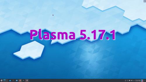 Plasma 5.17.1