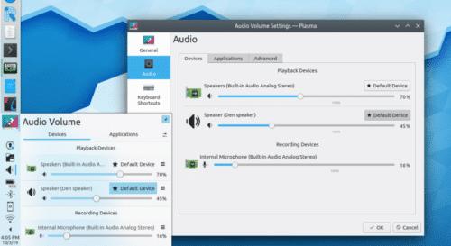 Preferencias de audio en artículo sobre Discover