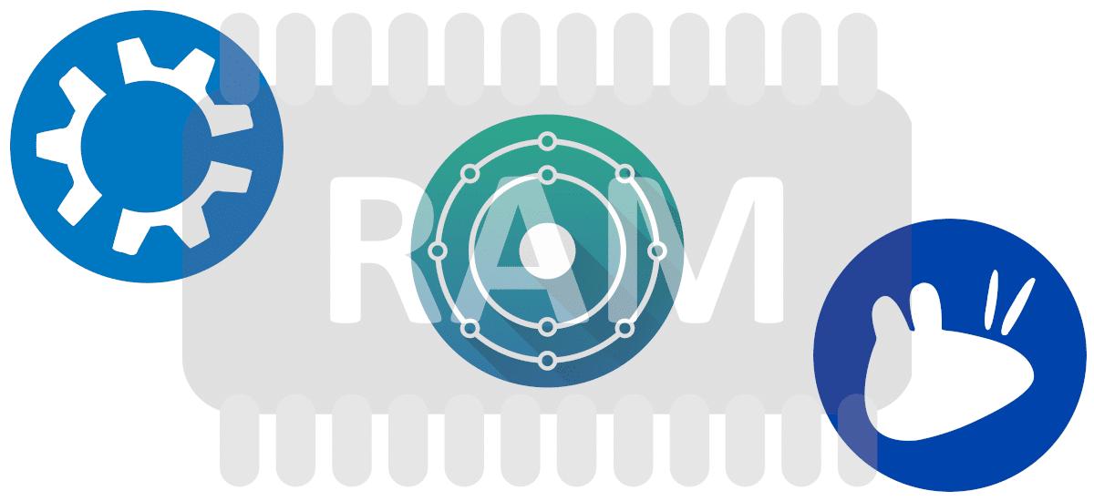 RAM en KDE neon, Xubuntu y Kubuntu