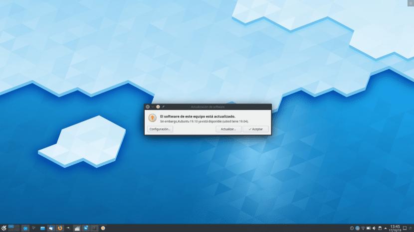 Ubuntu 19.10 ya disponible para actualizar