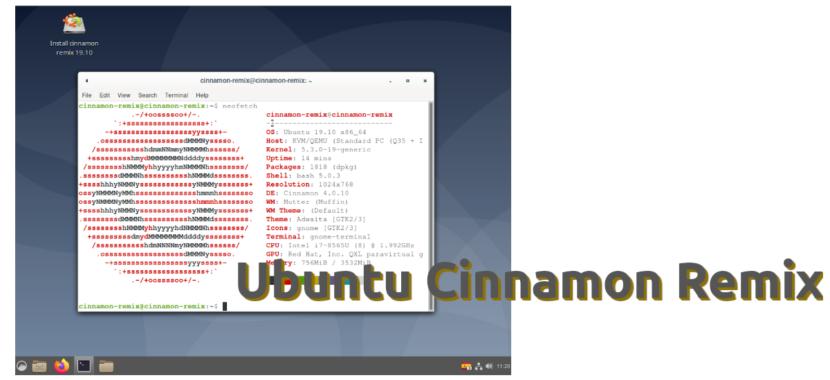 Ubuntu Cinnamon Remix