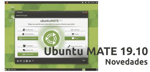 Ubuntu MATE 19.10