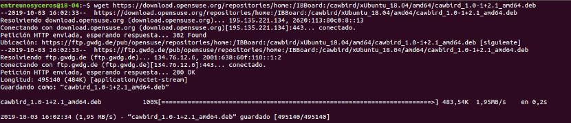 Descargar .deb para Ubuntu 18.04