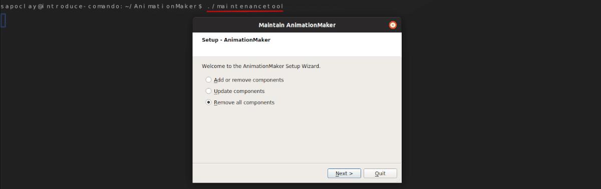 eliminar el software de Ubuntu