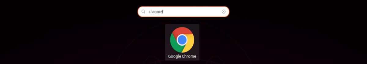 lanzador google chrome en ubuntu 19.10