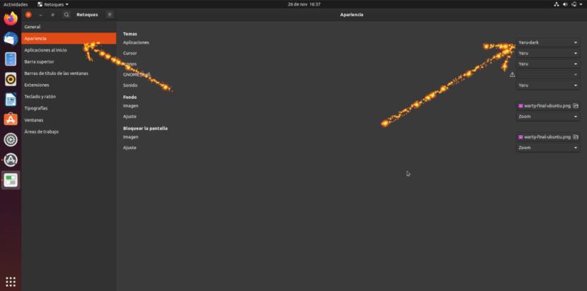 Activar modo oscuro en Ubuntu