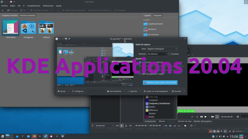 KDE Applications 20.04