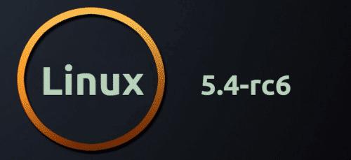 Linux 5.4-rc6