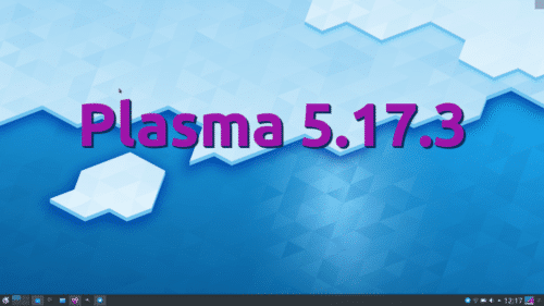 Plasma 5.17.3