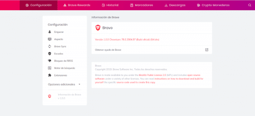 about brave 1.0