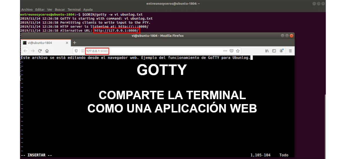 about GoTTY
