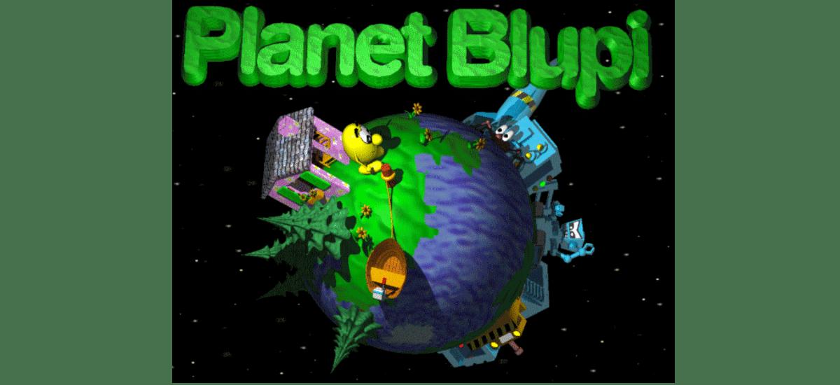 about planet blupi
