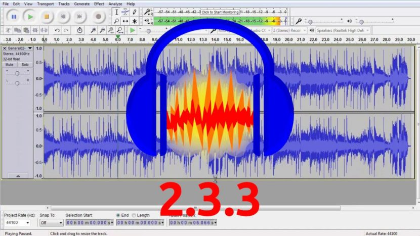 audacity 2.3.3