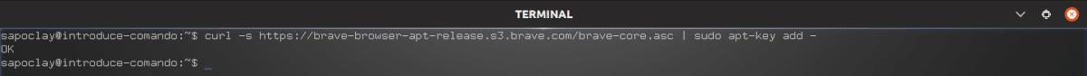 descargar la key para Brave 1.0
