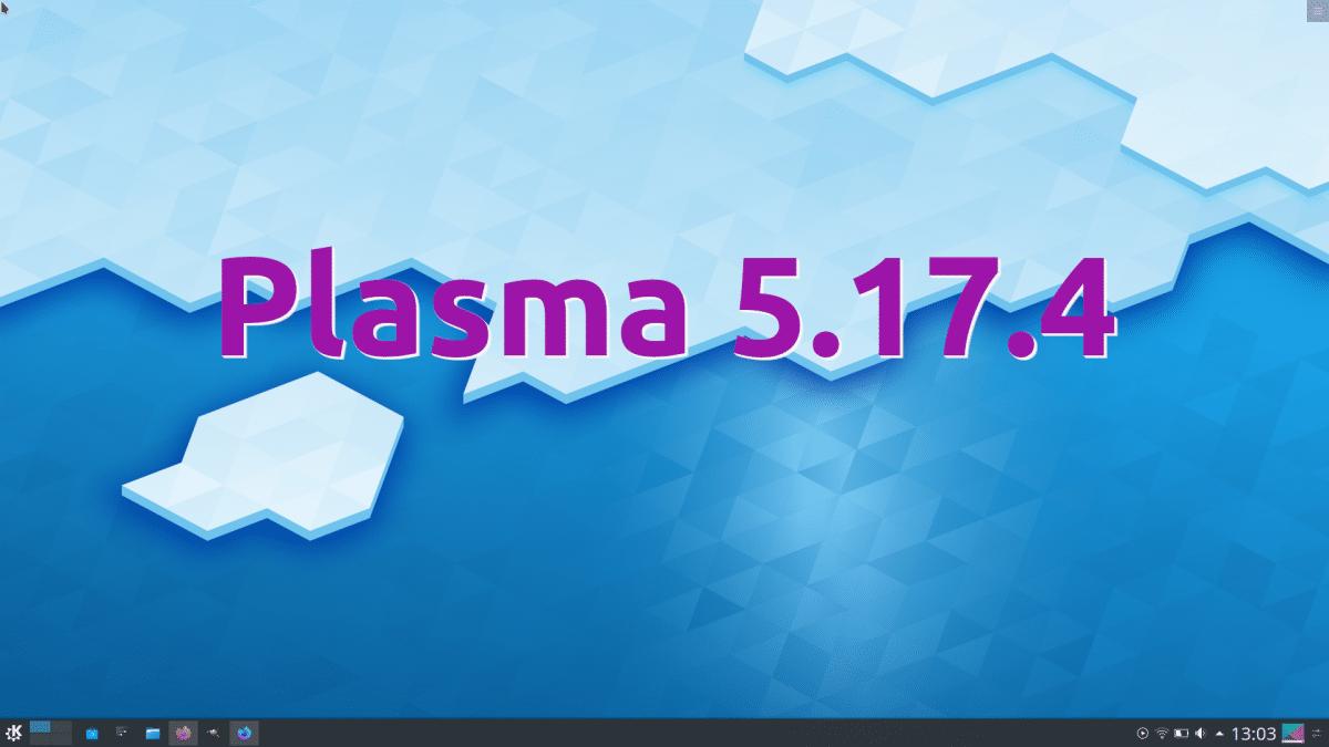 Plasma 5.17.4