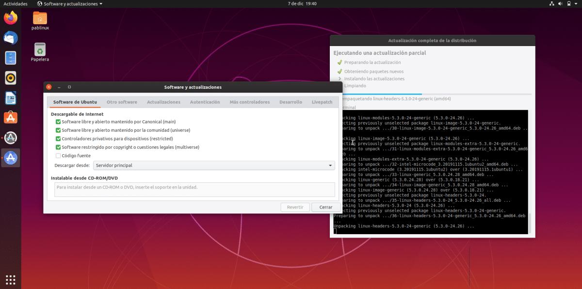 Reset a los repositorios de Ubuntu