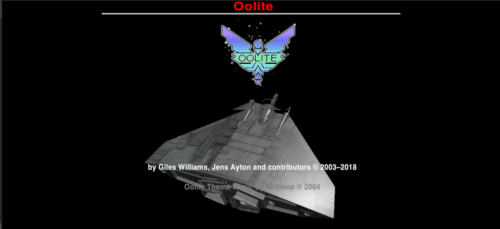 about Oolite
