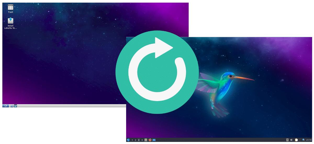 Actualizar de Lubuntu 18.04 a Lubuntu 19.10