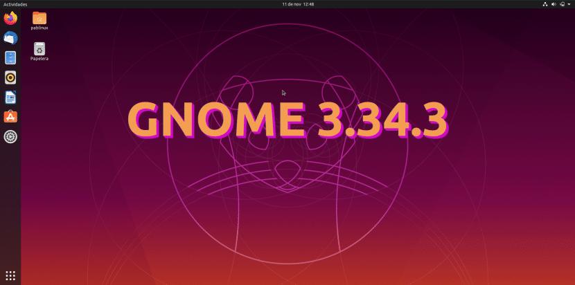 GNOME 3.34.3