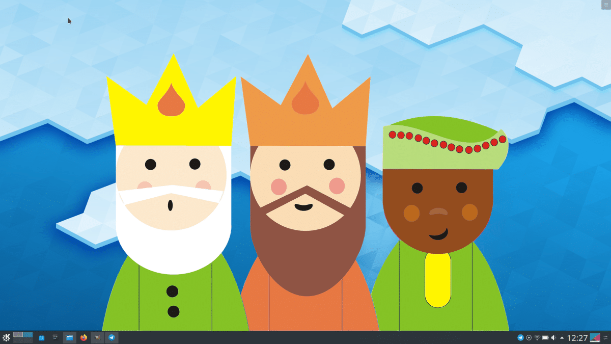 Novedades de KDE presentadas el día de reyes magos