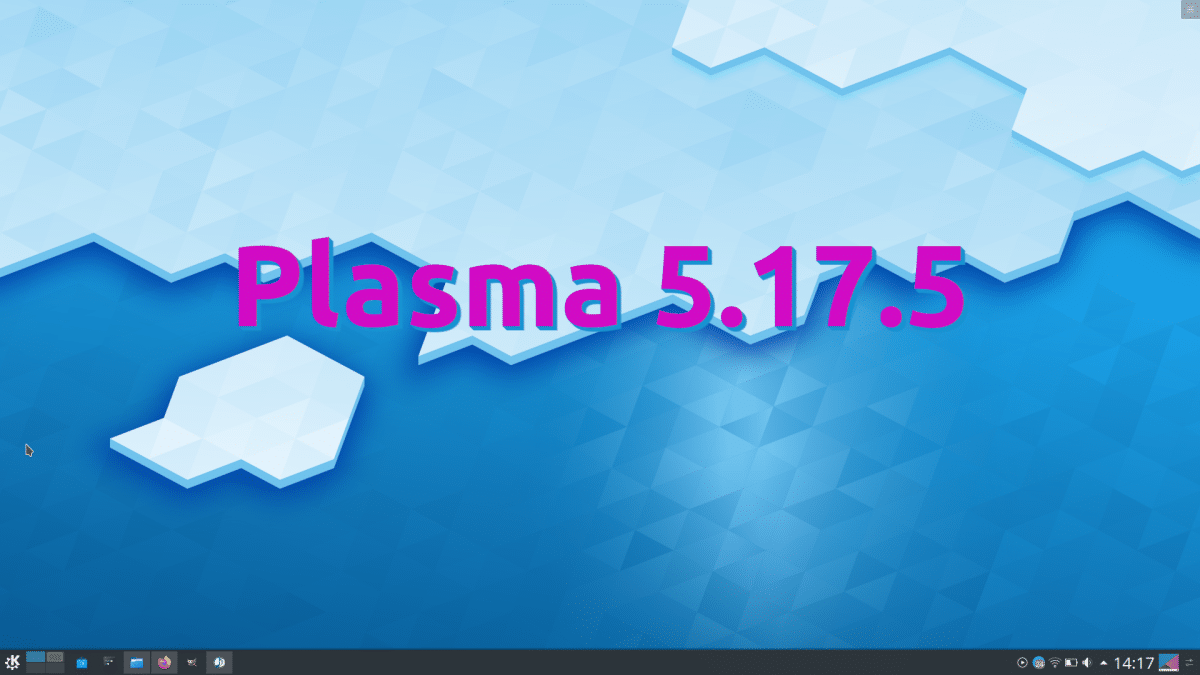 Plasma 5.17.5