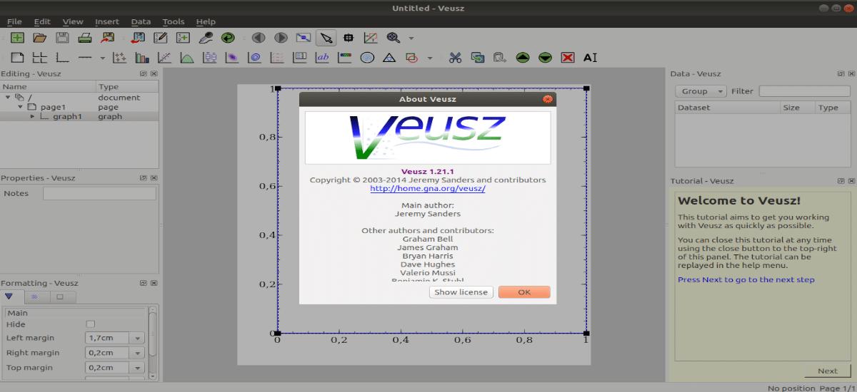 About Veusz