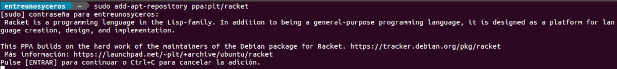 add repo racket
