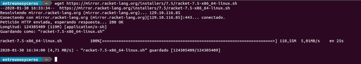 descargar script racket