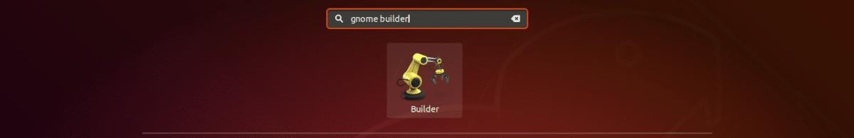 lanzador de gnome builder