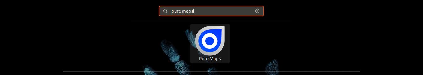 lanzador de pure maps