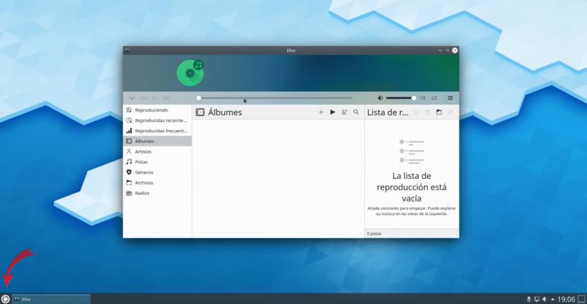 Elisa en Kubuntu 20.04