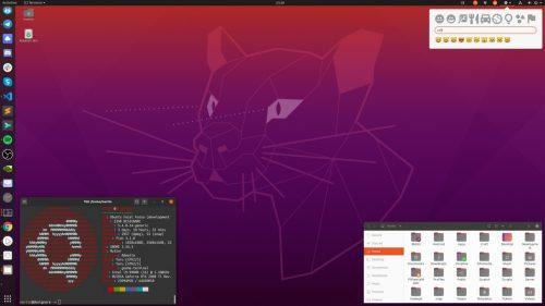 Fondo de pantalla de Ubuntu 20.04 Focal Fossa