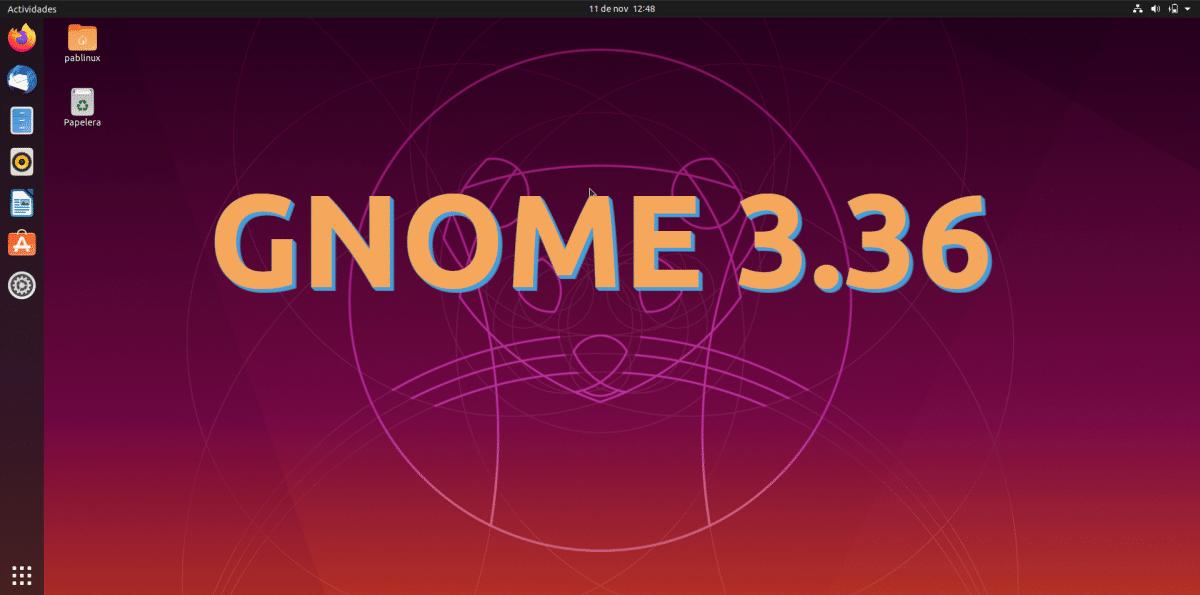 GNOME 3.36
