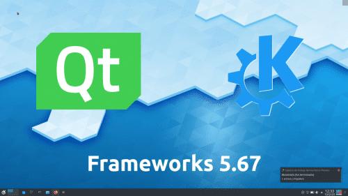 KDE Frameworks 5.67