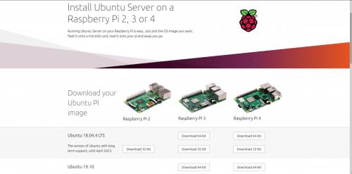 Página de Canonical sobre la Raspberry Pi