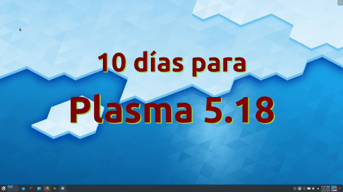 Plasma 5.18 a diez días