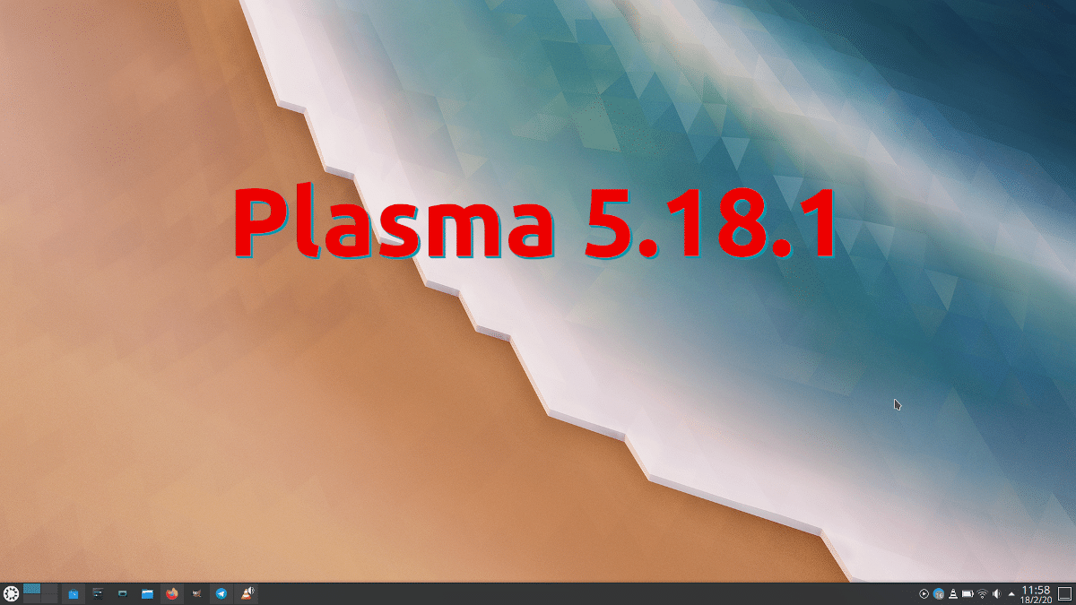 Plasma 5.18.1