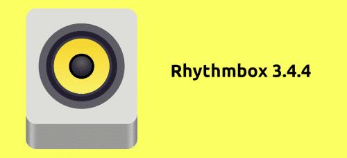 Rhythmbox 3.4.4