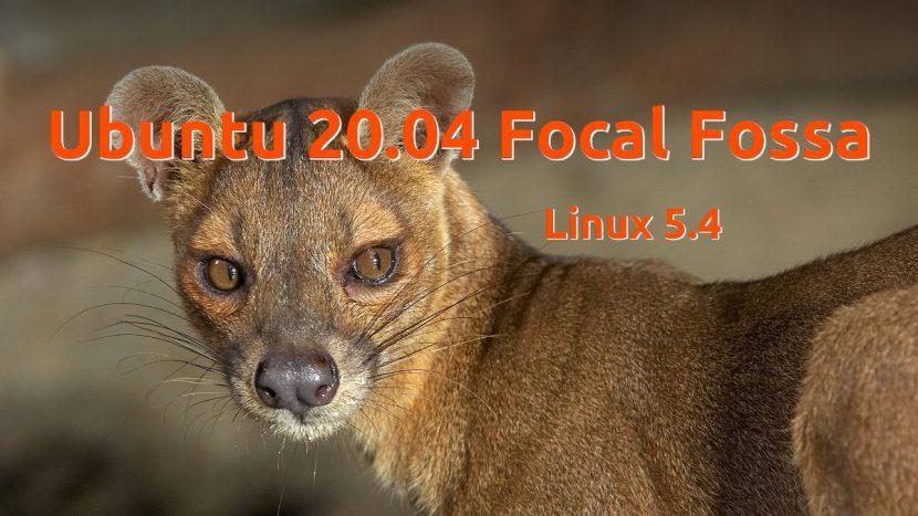 Ubuntu 20.04 Focal Fossa con Linux 5.4