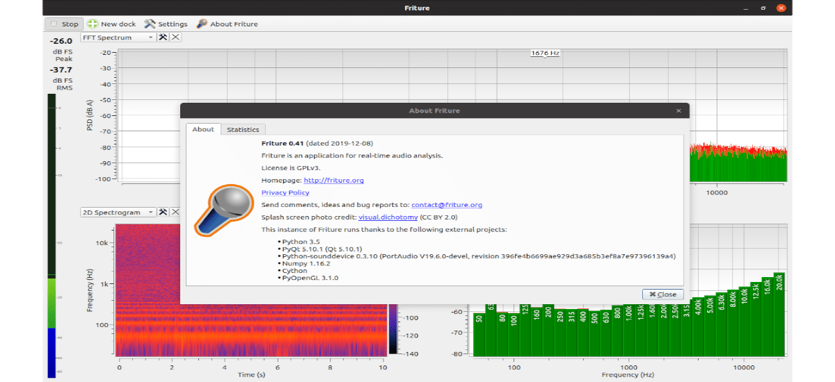 about friture audio analyzer