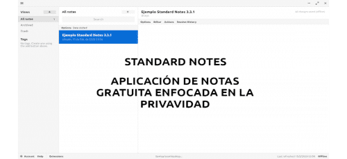 about standard notes