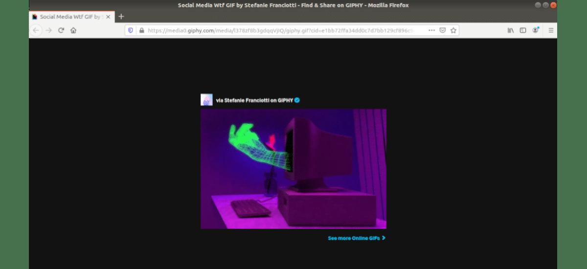 gif desde el navegador