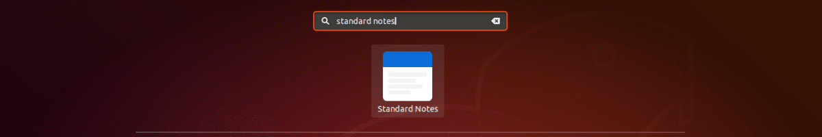 lanzador standard notes