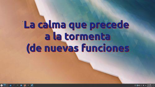 Esta semana en KDE: la calma que precede a la tormenta