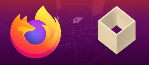 Firefox en flatpak