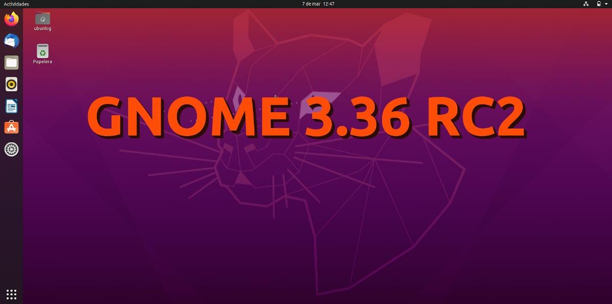 GNOME 3.36 RC2