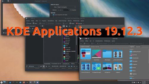 KDE Applications 19.12.3